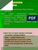 Ejaan Bahasa Indonesia1