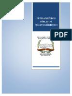 3 - FUNDAMENTOS BíBLICOS ESCATOLóGICOS I.pdf