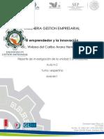 EL EMPRENDEDOR Y LA INNOVACION  Unidad 5 simuladores