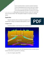 Geophysics' Role in o&g