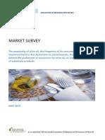Market Survey Olive Oil by Vrs May 2013