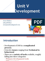 DSS Development