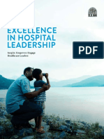 Inspiring, empowering and engaging healthcare leaders