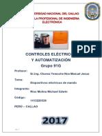 Controles Eléctricos y Automatizaón