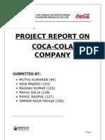 Final Report on Coca-cola