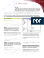 Caliber Family Datasheet