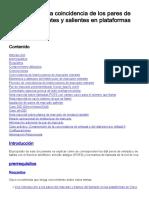 Introducción a La Coincidencia de Los Pares de Marcado Entrantes y Salientes en Plataformas IOS.