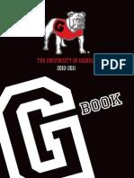 The University of Georgia G Book 2010 - 2011