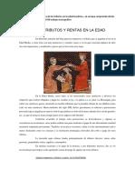 Caracteristicas y Naturaleza de Los Tributos en La Edad Moderna