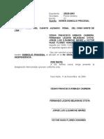 Designa Abogado- 4jp-Arbaiza y Otros