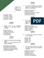Economia III Examen Parcial 2009 II