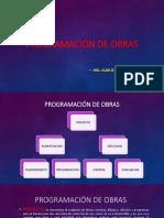 1-Programación de OBRAS I (Proyecto)