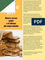 RICO O REY o El Dilema Del Emprendedor