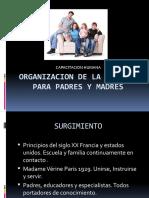 Organizacion de La Escuela Para Padres y Madres
