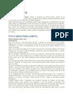 Carta a Garcia