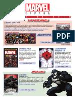 Catálogo ENERO 2018 Marvel