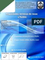 Diapositivas Sobre Las Propiedades Termicas de Las Rocas y Fluidos