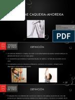 Sindrome Caquexia Anorexia