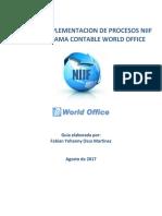 Implementacion de Procesos Niif en World Office