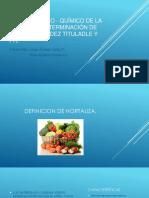 Análisis Físico - Químico de La Lechuga Pro Yecto Aula Imagenes
