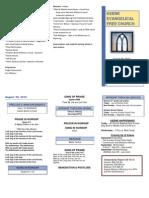 Church Bulletin - Word Template1