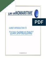 Lean Shipbuilding I Eng