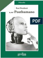 324558639 Braidotti Rosi Lo Posthumano PDF