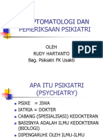 Symptomatologi Dan Pemeriksaan Psikiatri