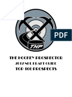 THP NHL Draft Guide 2017 Top 100 Prospects