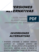 INVERSIONES ALTERNATIVAS