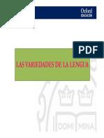 01 Presentacion Variedades Lengua