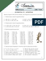 Taller Matemáticas Nivel II