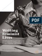 (Breaking Feminist Waves) Malin Lidström Brock (Auth.)-Writing Feminist Lives_ the Biographical Battles Over Betty Friedan, Germaine Greer, Gloria Steinem, And Simone de Beauvoir-Palgrave Macmillan (2