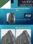 Planificacion y Programacion de Edificios Altos
