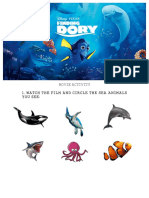 Movie Activity - Finding Dory