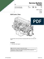 EGR Cooler Clean Volvo D16