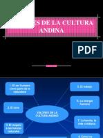 Estructura de La Realidad Valores de La Cultura Andina