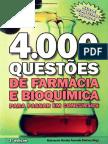 4.000 Questões de Farmácia e Bioquímica
