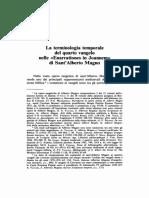 Ferraro - La terminologia temporale del quarto vangelo nelle 'Enarrationes in Joannem' di Sant'Alberto Magno.pdf
