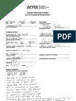 fw ii fieldwork performance evaluation 17