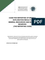 EU Code (2001)