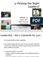 Lob Leadership