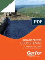 Precios Geotextil