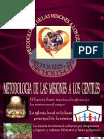 Metodología de Las Misiones a Los Gentiles