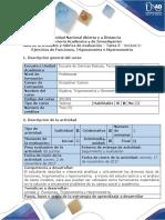 Guía de actividades y rubrica de evaluación Tarea 5- Desarrollar ejercicios de Funciones, Trigonometria y Hipernometria