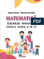 Caiet Mate Cls4