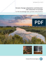 Climate Change Adaptation and Disaster Risk Reduction in Europe