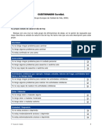 2.6.1 Cuestionario Euroqol