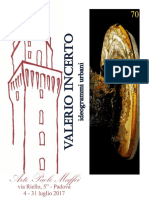 VALERIO INCERTO - IDEOGRAMMI URBANI