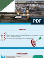 Reglamenro 42-F Seguridad Industrial